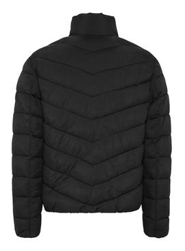 Cazadora Tommy Jeans Essential Puffer Negro Hombre