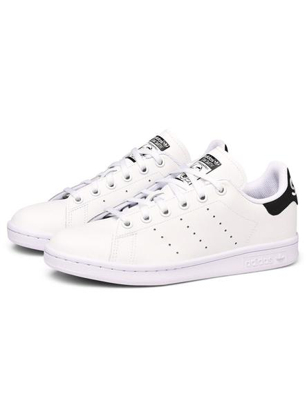 Zapatillas Adidas Stan Smith Blanco y Negro Teen