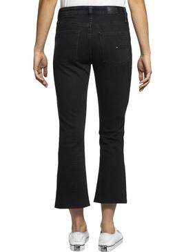 Pantalón Vaquero Tommy Jeans Crop Flare BFLB Mujer