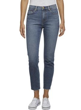 Pantalon Vaquero Tommy Jeans Izzy Crop Mujer
