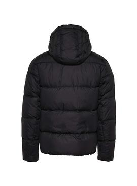 Cazadora Tommy Jeans Essential Hood Negro