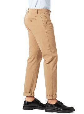 Pantalon Dockers Smart Chino Beige Hombre