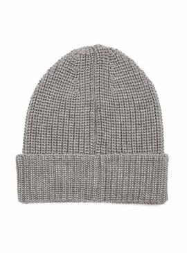 Gorro Tommy Jeans Basic Flag Gris Hombre