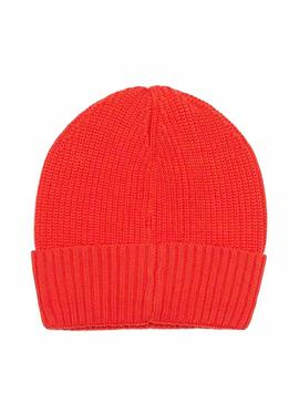 Gorro Tommy Jeans Heritage Rojo Hombre