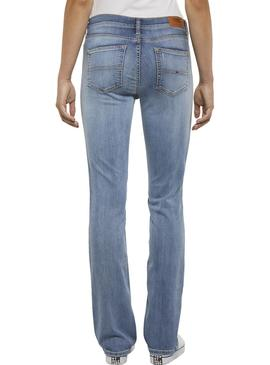 Pantalon Vaquero Tommy Jeans Boot Cut Mujer