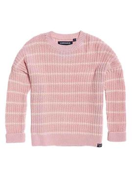 Jersey Superdry Elsie Rosa Mujer