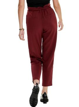 Pantalon Only Carolina Granate Mujer