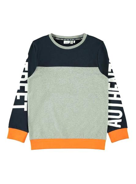 Sudadera Name It Nario Gris Niño