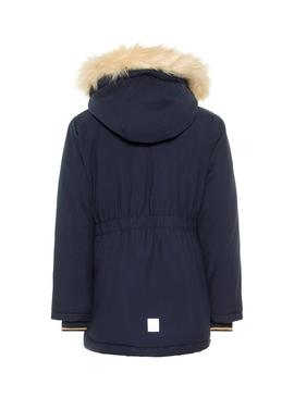 Parka Name It Moa Azul Niña