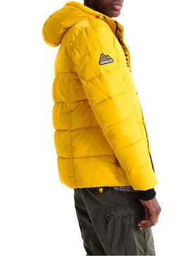 Chaqueta Superdry Sports Puffer Amarillo Hombre