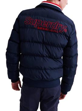 Chaqueta Superdry Icon Sports Marino Hombre