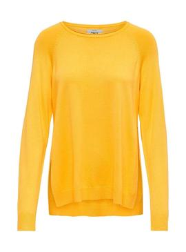 Jersey Only New Amarillo Mujer