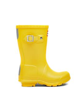 Botas Hunter Original Little Amarillo Para Niños