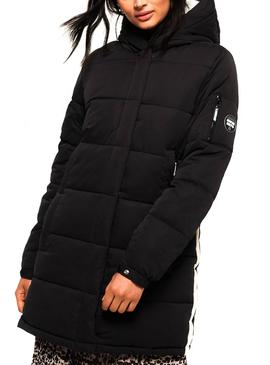 Chaqueta Superdry Sphere Ultimate Negro Mujer