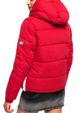 Chaqueta Superdry Sphere Rojo Mujer