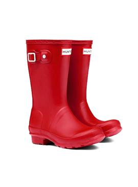 Bota Hunter Kids Original Rojo