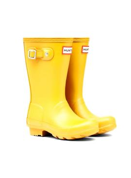 Bota Hunter Kids Original Amarillo