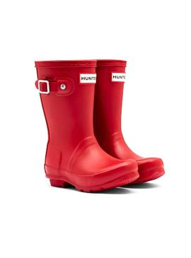 Bota Hunter Little Original Rojo