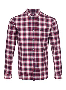 Camisa Lacoste CH0025 Roja Hombre