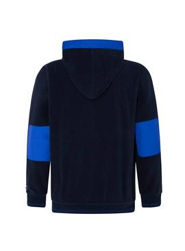 Sudadera Pepe Jeans Lucian Azul Hombre