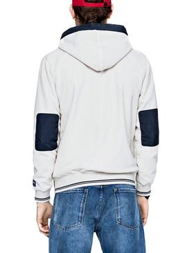 Sudadera Pepe Jeans Lucian Blanco Hombre