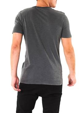 Camiseta Jack and Jones Kally Negro Hombre
