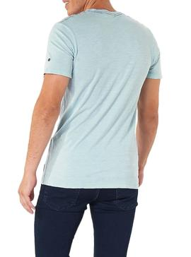 Camiseta Jack and Jones Kally Azul Hombre