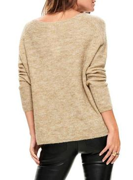 Jersey Only Hanna Beige Mujer