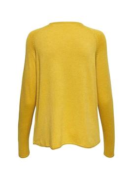 Jersey Only Mila Lacy Amarillo Mujer
