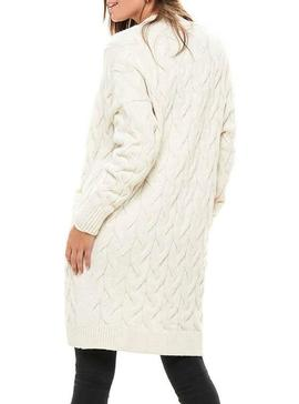 Chaqueta Only Freyah Beige Mujer
