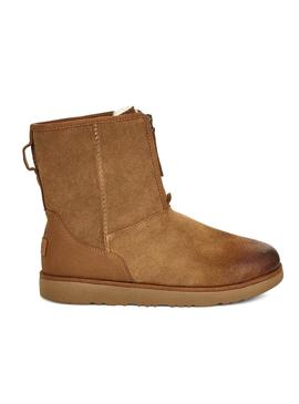 Botas UGG Classic Short Front Zip Camel Mujer