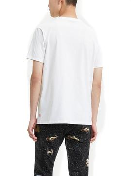 Camiseta Levis Star Wars Darth Vader Blanco Hombre