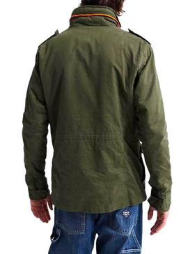 Chaqueta Superdry Assic Pookie Verde Hombre.