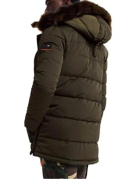 Parka Superdry Chinook Verde Hombre
