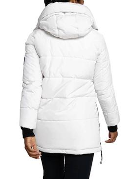 Chaqueta Superdry Ion Padded Blanca Mujer