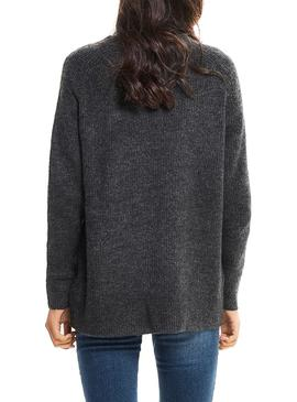 Jersey Only Orleans Gris Oscuro Mujer
