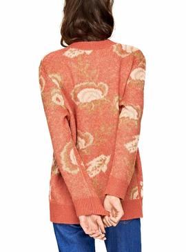 Jersey Pepe Jeans Elvira Coral Mujer