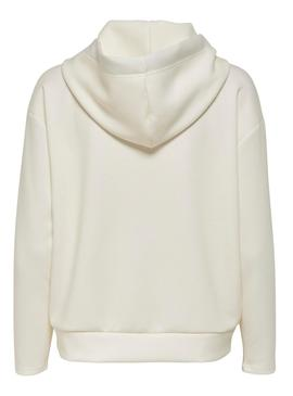 Sudadera Only Fancy Beige Mujer
