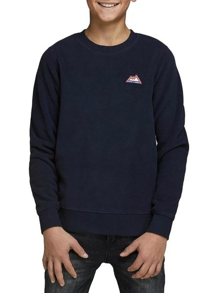 Sudadera Jack and Jones North Marino Niño