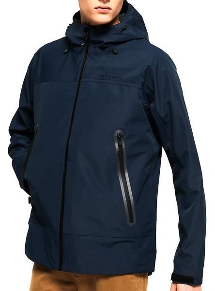Chaqueta Superdry Hydrotech Waterproof Azul Hombre