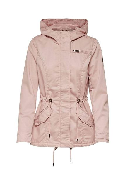Parka Only New Lorca Canvas Rosa Mujer