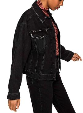 Chaqueta Pepe Jeans Turner Negro Mujer