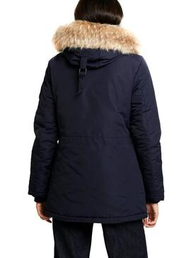 Parka Superdry Ashley Everest Marino Para Mujer