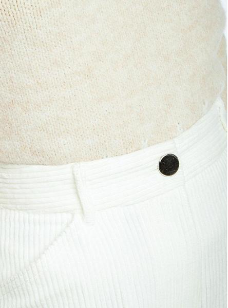Pantalon Naf Naf Pana Blanco Mujer