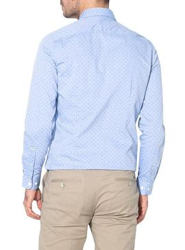 Camisa Pepe Jeans Lane Azul Hombre