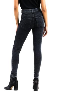 Pantalon Vaquero Levis Mile High Negro