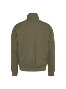 Bomber Tommy Jeans Essential Verde Para Hombre