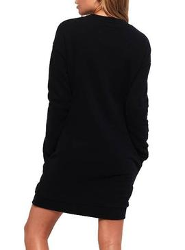 Vestido Superdry Embellished Sweat Negro