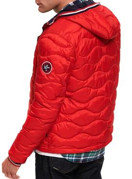Cazadora Superdry Wave Rojo
