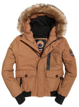 Cazadora Superdry Everest Bomber Camel